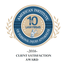 2016 Client Satisfaction Award